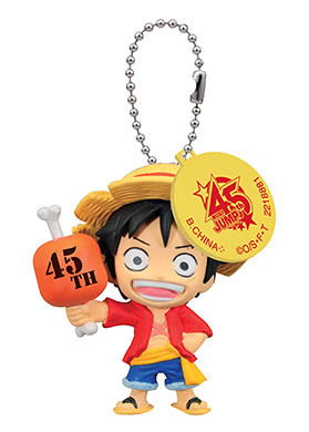 main photo of J-Stars 45th Anniversary Swing Zenpen: Monkey D. Luffy