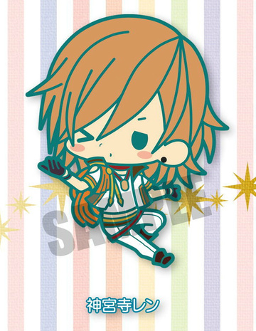 main photo of Rubber Strap Collection Uta no Prince-sama: Maji Love 2000%: Jinguuji Ren