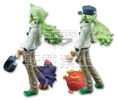 photo of Pocket Monsters Best Wishes! DXF Figure: Zorua & N