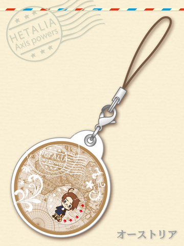 main photo of -es series nino- Hetalia Axis Powers Gel Charm Collection: Austria