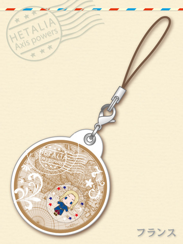 main photo of -es series nino- Hetalia Axis Powers Gel Charm Collection: France