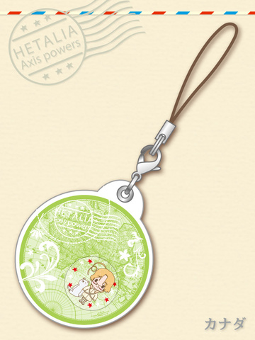 main photo of -es series nino- Hetalia Axis Powers Gel Charm Collection: Canada