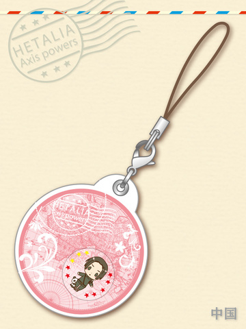 main photo of -es series nino- Hetalia Axis Powers Gel Charm Collection: China