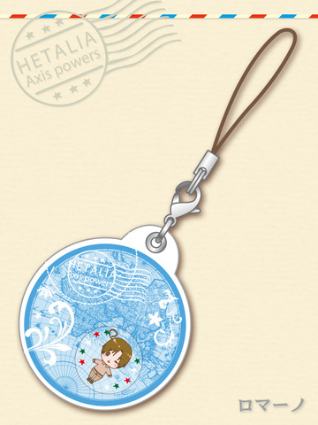 main photo of -es series nino- Hetalia Axis Powers Gel Charm Collection: South Italy