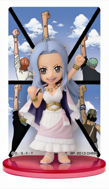 main photo of Ichiban Kuji One Piece ~Girls Collection 2~ The Strong Girls: Card Stand Figure Nefertari Vivi