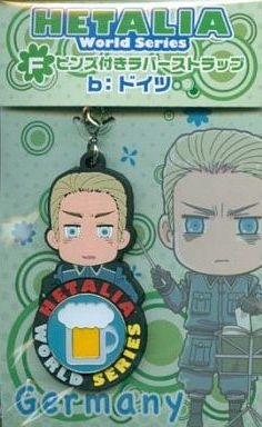 main photo of Hetalia Anikuji vol.1: Germany Rubber Strap Pin