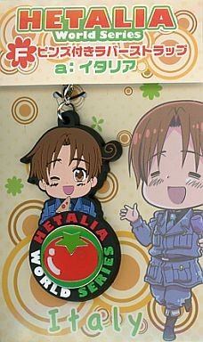 main photo of Hetalia Anikuji vol.1: Italy Rubber Strap Pin