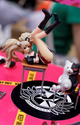 main photo of Enoshima Junko and Monokuma