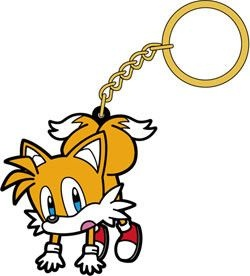 main photo of Sonic the Hedgehog Tsumamare Pinched Keychain: Tails