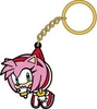 photo of Sonic the Hedgehog Tsumamare Pinched Keychain: Amy