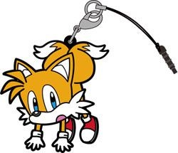 main photo of Sonic the Hedgehog Tsumamare Pinched Strap: Tails