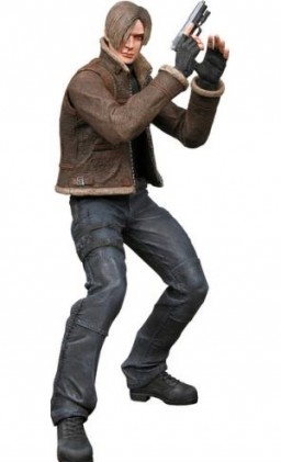 main photo of Resident Evil 4 Action Figure Series 1: Leon Scott Kennedy in jacket ver.