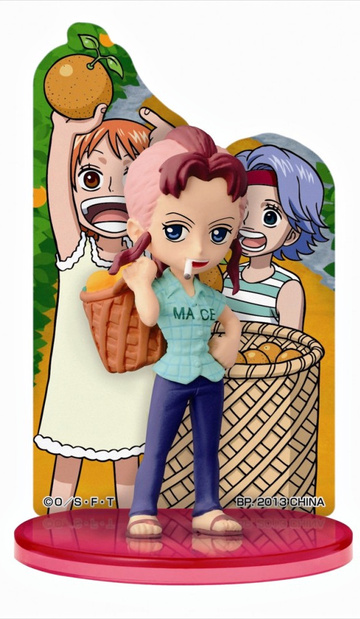 main photo of Ichiban Kuji One Piece ~Girls Collection 2~ The Strong Girls: Card Stand Figure Bellemere