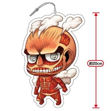 main photo of Chimi Shingeki Earphone Jack Mascots: Colossal Titan