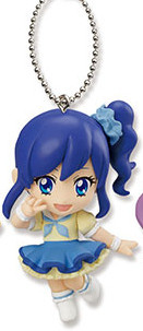 main photo of Aikatsu! Mascot Key Chain: Kiriya Aoi