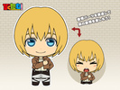photo of Picktam! Shingeki no Kyojin: Armin Arlert