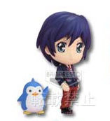 main photo of Ichiban Kuji Mawaru Penguindrum: Takakura Shouma & Penguin 2-gou Chibi Kyun-Chara