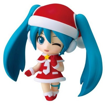 main photo of Nendoroid Petite Hatsune Miku Santa Ver.