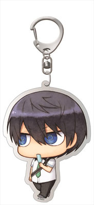 main photo of Free! - Deka Keychain: Chimi Chara Haruka Uniform ver.