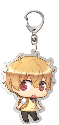 main photo of Free! - Deka Keychain: Chimi Chara Nagisa Uniform ver.