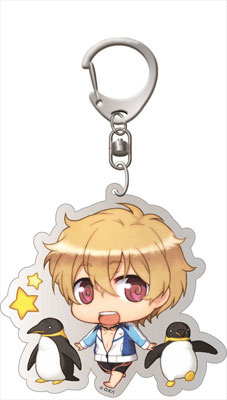 main photo of Free! - Deka Keychain: Chimi Chara Nagisa Swimsuit ver.