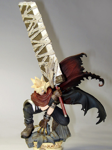 main photo of Kingdom Hearts Formation Arts Vol.2: Cloud Strife