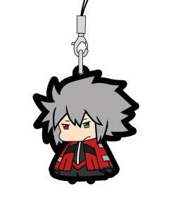 main photo of BlazBlue Trading Rubber Strap: Ragna the Bloodedge