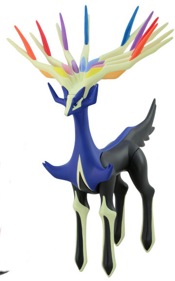 main photo of Pocket Monsters DX Soft Vinyl Figure: Xerneas