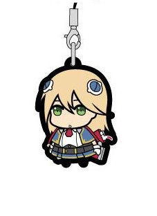 main photo of BlazBlue Trading Rubber Strap: Noel Vermillion