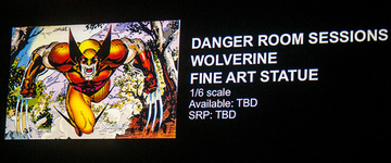 main photo of Fine Art Statue Wolverine Danger Room Sessions ver.