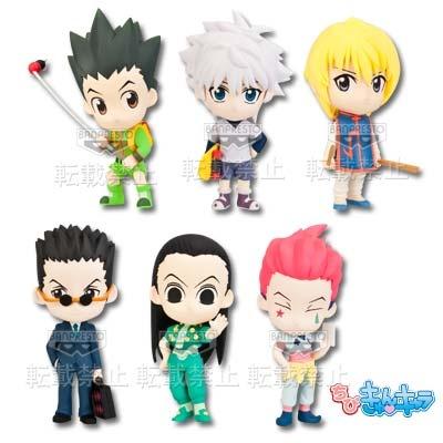 ichiban kuji hunter x hunter kurapika chibi kyun chara my anime shelf