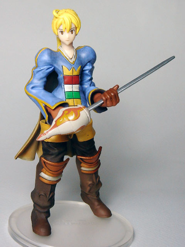 main photo of Final Fantasy Tactics Trading Arts: Ramza Beoulve