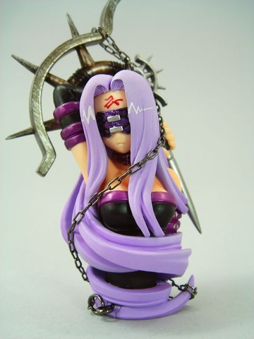 main photo of Fate/stay night Bust Collection: Rider Manga Volume 3 Limited Edition Ver.