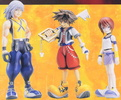 photo of Kingdom Hearts Soft Figure DX 3 Pack Set: Sora