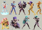 photo of Tamashii Super Model Saint Seiya Part II: Phoenix Ikki