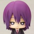 One Coin Mini Figure Collection Kuroko no Basket 3Q: Murasakibara Atsushi Uniform ver.
