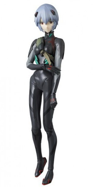 main photo of Real Action Heroes No.649: Rei Ayanami Black Plug Suit Ver.