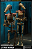 photo of Militaries Of Star Wars: Security Battle Droid Veteran Battle Damaged ver.