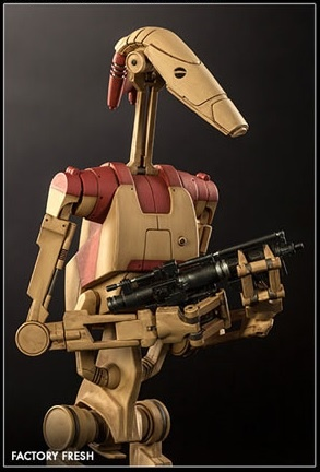 main photo of Militaries Of Star Wars: Security Battle Droid Factory Fresh ver.