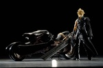 photo of Play Arts Cloud Strife and Fenrir