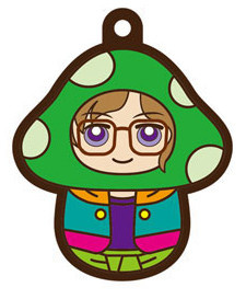 main photo of Charanoko Meganebu! Rubber Strap: Hachimine Takuma