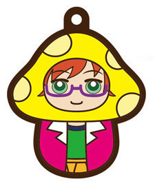 main photo of Charanoko Meganebu! Rubber Strap: Kamatani Mitsuki