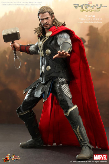 main photo of Movie Masterpiece Thor The Dark World Ver.