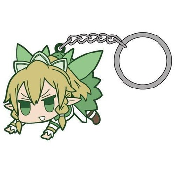 main photo of Sword Art Online Tsumamare Pinched Keychain: Leafa
