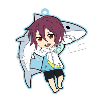 main photo of Pic-Lil! Free! Trading Strap 2Fr: Matsuoka Rin elementary school ver.