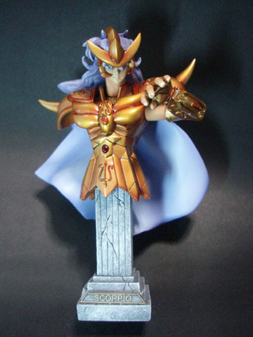 main photo of Saint Seiya BUST - Gold Saints: Scorpio Milo