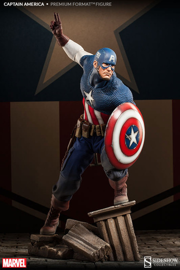 main photo of Premium Format Figure Captain America