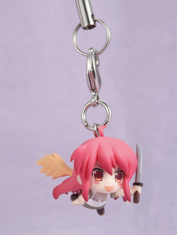 main photo of Toy'sworks Collection 2.5 SisterS Shakugan no Shana III -Final- Strap: Shana Flame Haze Ver.