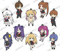 photo of Little Busters! Refrain Trading Rubber Strap: Tokido Saya