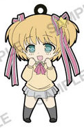 main photo of Little Busters! Refrain Trading Rubber Strap: Kamikita Komari